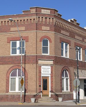 Shelton, Nebraska - Shelton Historical Interpretive Centre in Meisner Bank Building