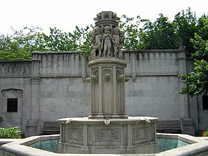 Edmond Amateis - Image: Mellon Park Fountain