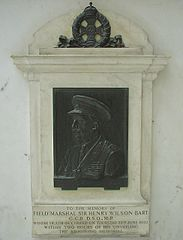Memorial to Sir Henry Wilson, 1st Baronet