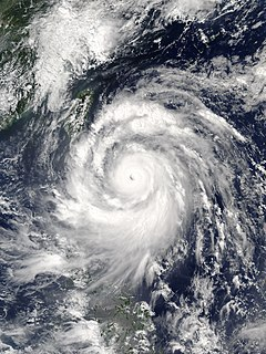 Typhoon Meranti Pacific typhoon in 2016