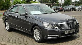 Mercedes-Benz E-Class (W212) Motor vehicle