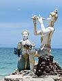 Mermaid and Apaimanee Statue (Side).jpg