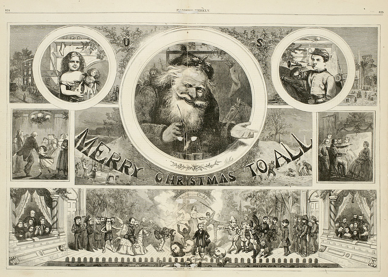 File merry christmas to all by thomas nast g