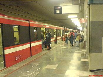 Metro Guadalajara Estacion Juarez Linea 1