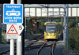 South Manchester Line tram line of the Manchester Metrolink