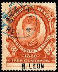 Mexico 1880 revenue F73 Leon.jpg