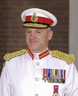 former Commandant General of the Royal Marines