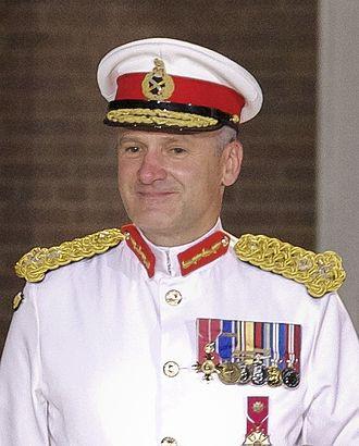 Ed Davis (Royal Marines officer) - Ed Davis in August 2012
