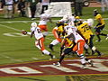 Miami on offense at 2008 Emerald Bowl 03.JPG