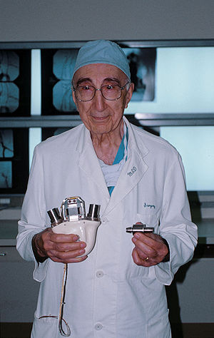 Michael E. DeBakey, world-famous cardiothoraci...