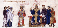 Michael III proclaims Basilikinos as co-emperor.png