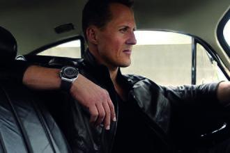 Audemars Piguet - Michael Schumacher with his Royal Oak Offshore chronograph