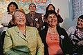 Michelle Bachelet visita junta de vecinos Nº 34 de la comuna de Lo Espejo (8673369386).jpg
