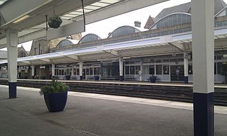 Middlesbrough railway station - Middlesbrough station, July 2014