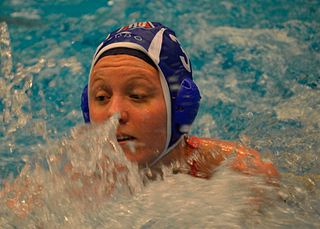 Mieke Cabout Dutch water polo player
