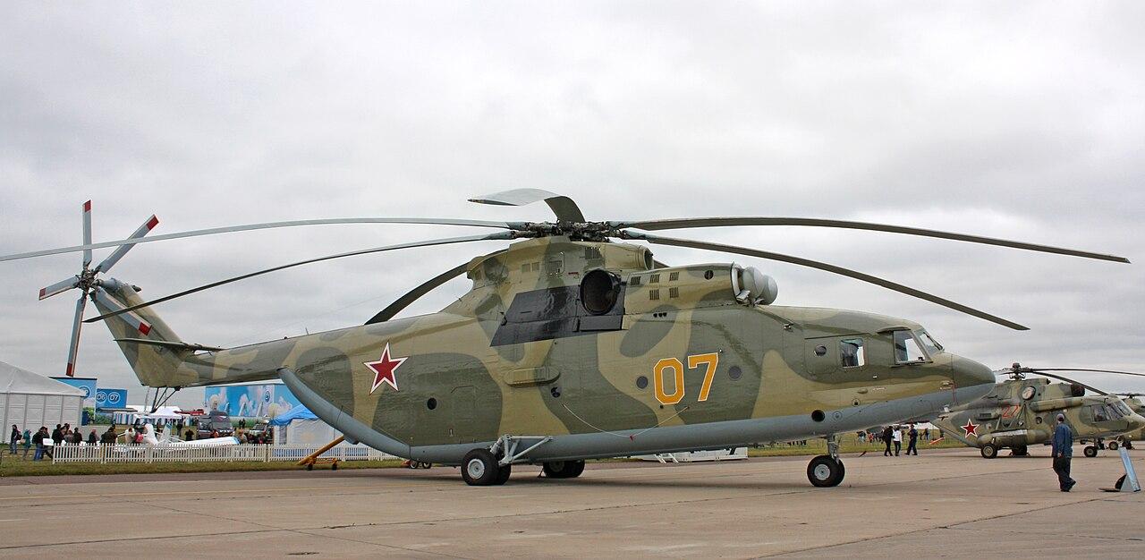 MI- 26直升机 - wuwei1101 - 西花社