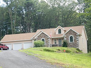 Norwegian Township, Schuylkill County, Pennsylvania - Image: Mill Creek, Norwegian Twp, Schuylkill Co PA 01