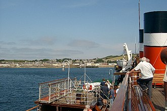 Great Cumbrae - Image: Millport Great Cumbrae