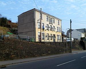 Richard Burton - The Miner's Arms at Pontrhydyfen where Richard Burton's parents met and married.