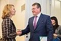 Minister for European Affairs Tytti Tuppurainen and Vice President of the European Commission Maroš Šefčovič meeting in Helsinki 2.12.2019 (49157796572).jpg