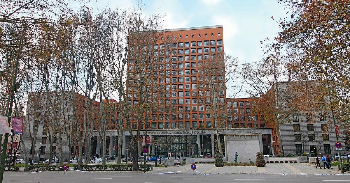 Ministerio de sanidad servicios sociales e igualdad for Ministerio de seguridad espana