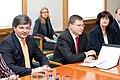 Ministru prezidents Valdis Dombrovskis tiekas ar Latvijas Lielo pilsētu asociācijas pārstāvjiem (8076320817).jpg