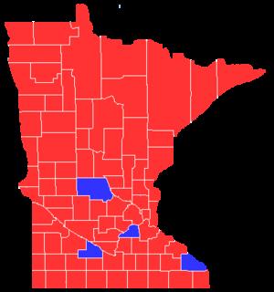 United States presidential election in Minnesota, 1908 - Image: Minnesota President 1908