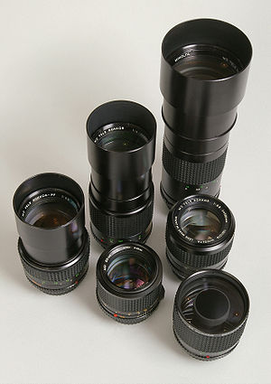 Telephoto lens - A collection of telephoto lenses