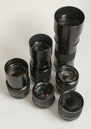 Rokkor - Some Minolta Rokkor tele photo lenses