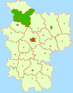 Location of ولیئکا ضلع