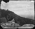 Miss Edwards in front of Indian Rock, Lookout Mountain, Tenn (4208554217).jpg