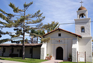 Mission Santa Cruz - The one-third size Mission Santa Cruz replica