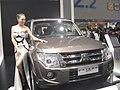 Mitsubishi Pajero CN Spec V6 3.0L In 2013 Guangzhou Autoshow 01.jpg