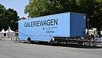 """Mobile art gallery Galeriewagen"""" in Munich.JPG"""