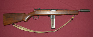M50 Reising Type of Submachine gun