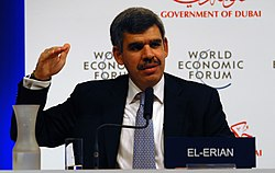 Mohamed A. El-Erian at the World Economic Forum Summit on the Global Agenda 2008.jpg