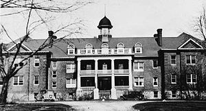 Mohawk Institute Residential School - Mohawk Institute ca.1932
