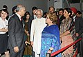 Mohd. Hamid Ansari and Smt. Salma Ansari visited the Terracotta Warrior, at Xi'an, in China. The Minister of State for Commerce & Industry (Independent Charge), Finance and Corporate Affairs.jpg
