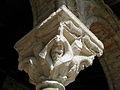 Moissac (82) Abbaye Saint-Pierre Cloître Chapiteau 10.JPG