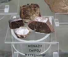 monazitski kemijski datiranje
