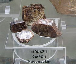 definition of monazite