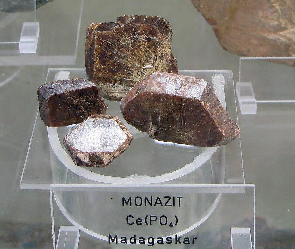 Monazit - Madagaskar