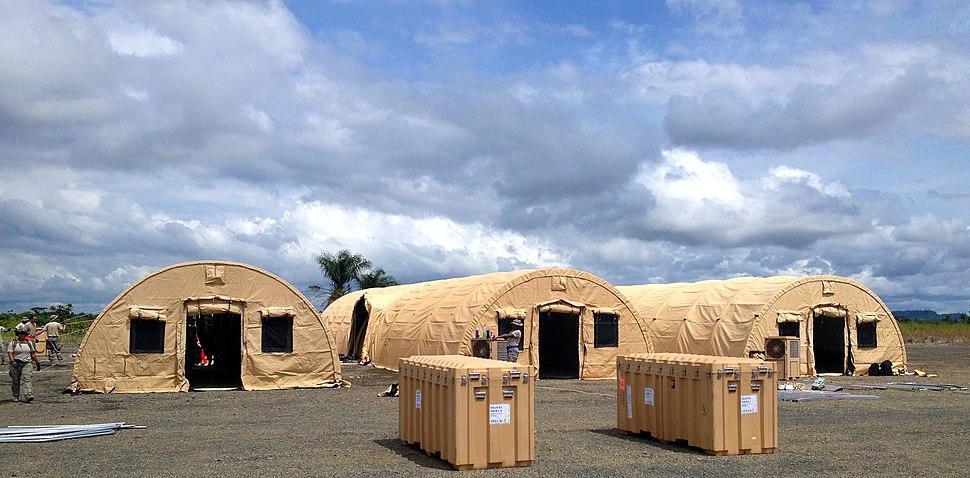 Monrovia Medical Unit October 8 2014