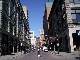 Rue de la Montagne - Rue de la Montagne, downtown.