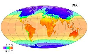 Tagestemperatur T: max / med / min