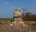 Monument ter herinnering aan de slag bij Warns in 1345. Locatie. Reaklif (Het Rode Klif) 02.jpg