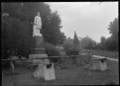 Monument to Canon Charles Jordan in the Tauranga Domain, 1924. ATLIB 296373.png