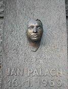 Olbram Zoubek - monument Jan Palach te Praag