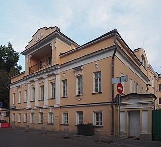 House E. S. Lobkova - Image: Moscow Bolsoy Tolmachevskiy 5s 7 20150904 102 Shift N