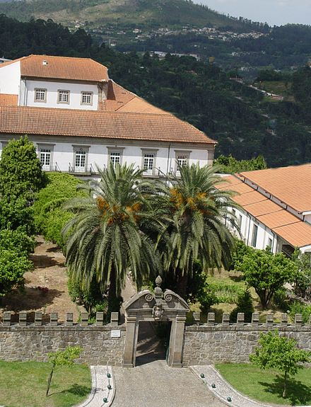 The Monastery of the Sisters of the Visitation in Braga, Portugal Mosteiro da Visitacao Braga.JPG